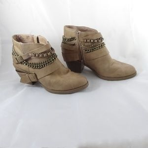 SO Authentic American Heritage Ankle Booties Sz 9
